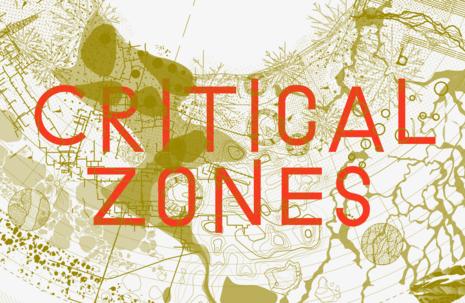 Key Visual der Ausstellung Critical Zones – Horizonte einer neuen Erdpolitik