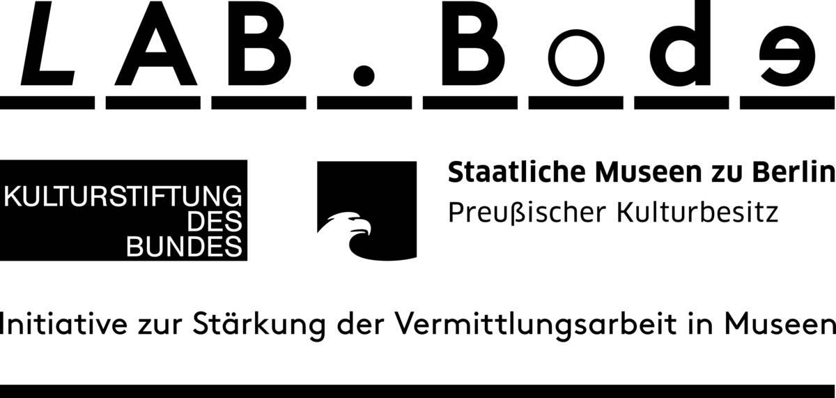 Kombilogo: lab.Bode, Kulturstiftung des Bundes, Staatliche Museen zu Berlin