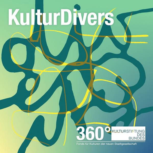 Logo: Podcast KulturDivers im 360°-Fonds für Kulturen der neuen Stadtgesellschaft