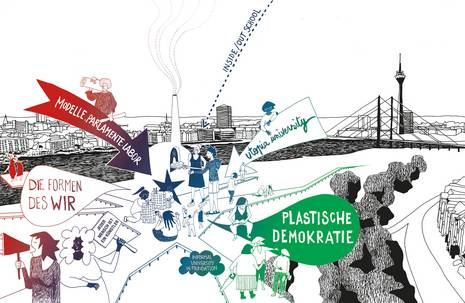 Grafik zum Projekt Plastische Demokratie