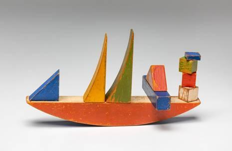 Alma Siedhoff-Buscher, Bauspiel: Ein Schiff, 1924, Foto: Roman März