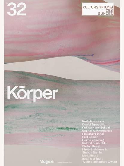 """Titelbild von Magazin 32 mit Schriftzug """"Körper"""""""