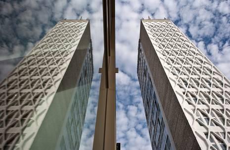 Turmhochhaus des Hauses der Kultur und Bildung