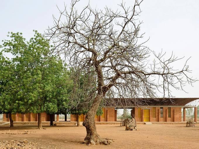 Diébédo Francis Kéré, Grundschule in Gando, Burkina Faso, Afrika