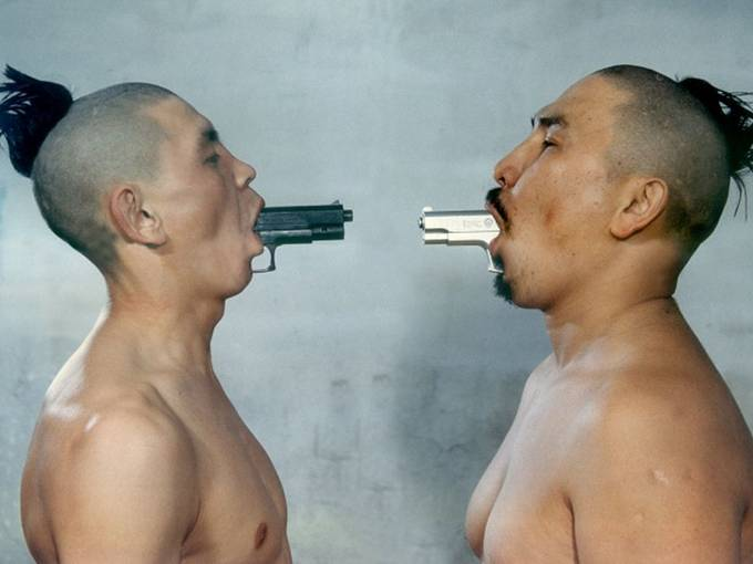 © Erbossyn Meldibekov, My Brother My Enemy, 2000, Digital photograph, 100 x 137 cm, edition 1 of 5