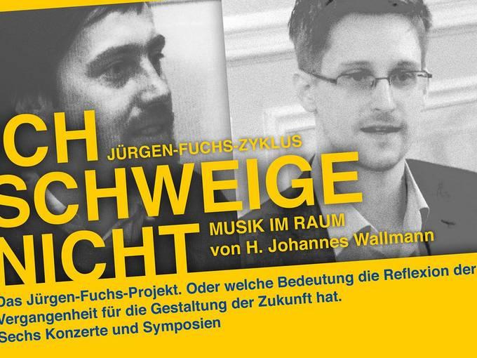 """""""Ich schweige nicht"""" - Das Jürgen-Fuchs-Projekt 2014/2015"""