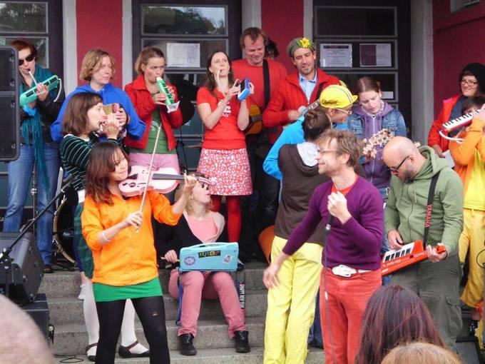 Kultur im Bahnhof. Foto: Barbara Winter
