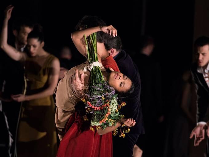 Orfeo (2014), Eine choreographische Oper von Sasha Waltz, Fotograf: Sebastian Bolesch