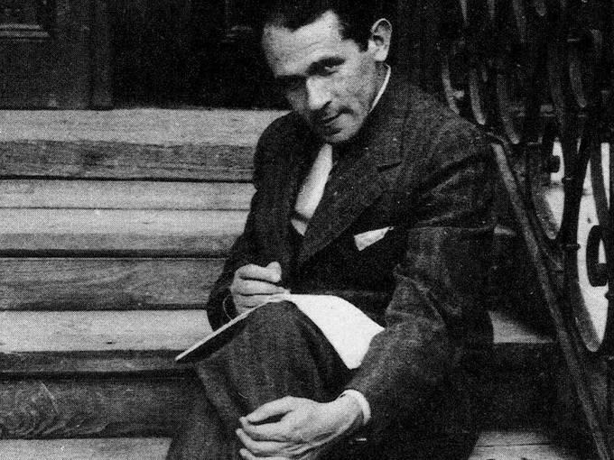 Bruno Schulz 1935 in Drohobycz