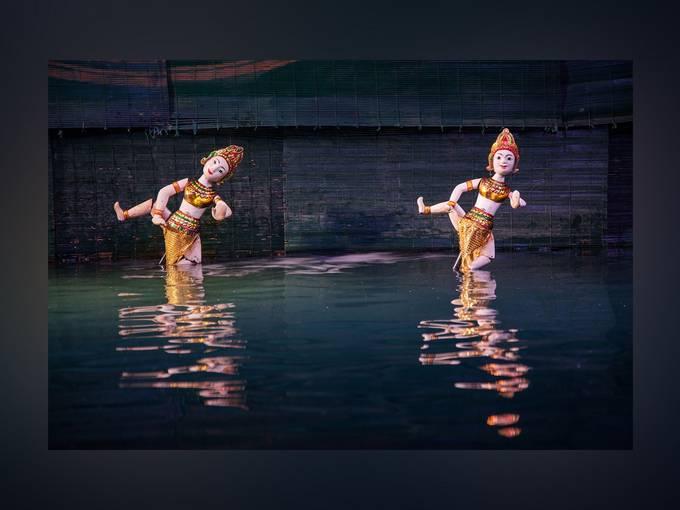 Fidena 2016: Vietnamesisches Wassermarionetten-Theater aus Ho-Chi-Minh-Stadt, Foto: Enrique Lanz