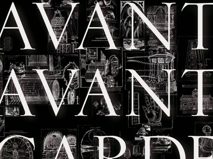 "Plakatmotiv ""Avant Avantgarde"" (Ausschnitt), © Marion Wörle"