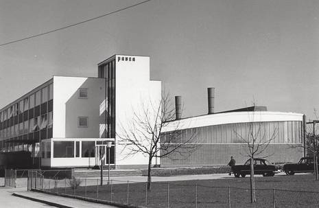 100 Jahre Pausa - 100 Jahre Bauhaus