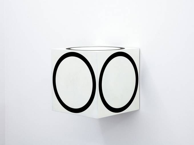 Channa Horwitz, Circles on a Cube, 1968/2011, Courtesy Estate Channa Horwitz and François Ghebaly Gallery, Los Angeles