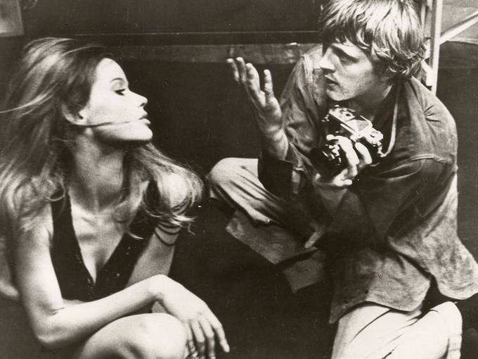 Arthur Evans, Filmstill aus Blow-Up (Ausschnitt)