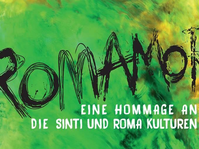 """Plakat zum Festival """"RomAmor"""" © Hellerau, Dresden"""