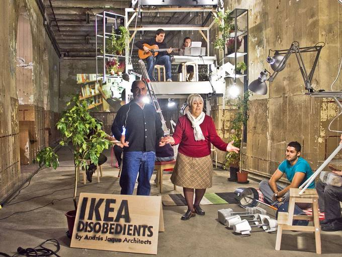 Haushaltsmesse 2015, Ikea Disobedients © Andres Jaque Architects