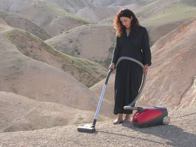 Raeda Saadeh Vacuum, 2007 Video still  © Courtesy: The artist