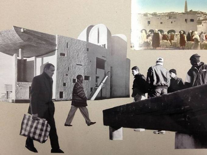Kader Attia: Following Modern Genealogy, 2012, (Collage)