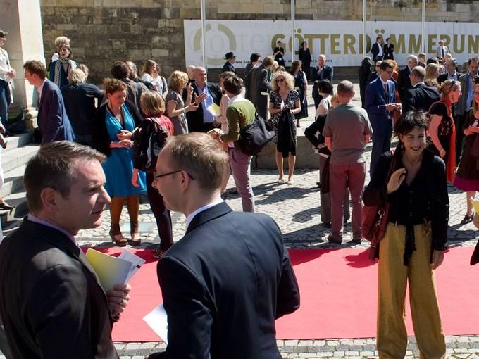 Festakt anlässlich des 10jährigen Jubiläums der Kulturstiftung des Bundes, 22. Juni 2012 in der Oper Halle Foto: Falk Wenzel