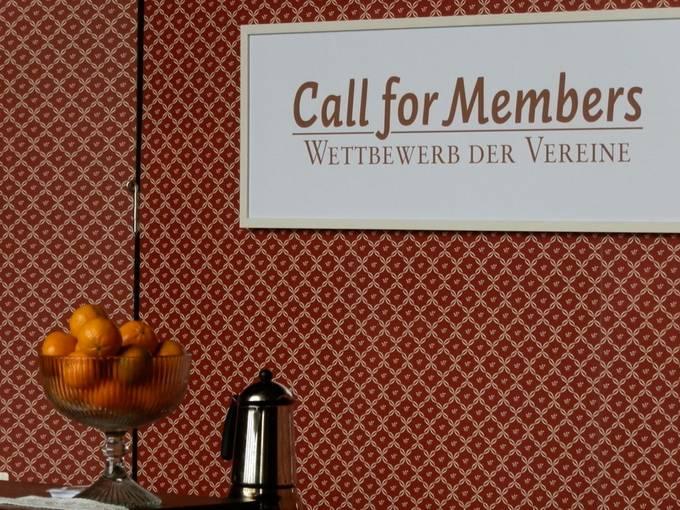 Call for Members - Wettbewerb der Vereine