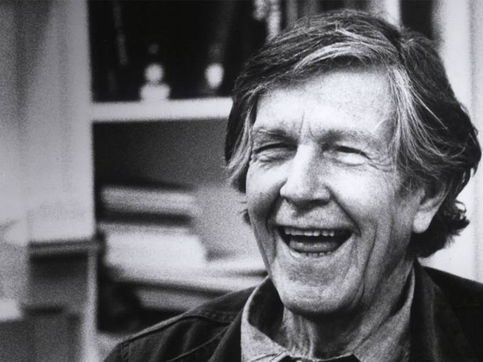 John Cage (c) Susan Schwartzenberg - The Explanatorium 1987