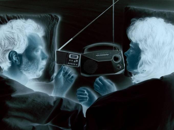 Hören Sie beim Einschlafen zwei Radiosender? Foto: Sarah Washington