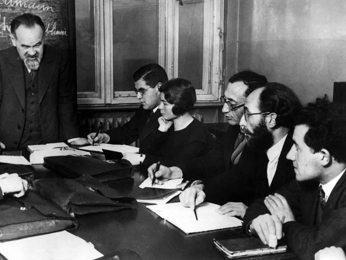 Unterricht an der Hochschule für die Wissenschaft des Judentums in Berlin (1935): Leo Baeck Institute New York