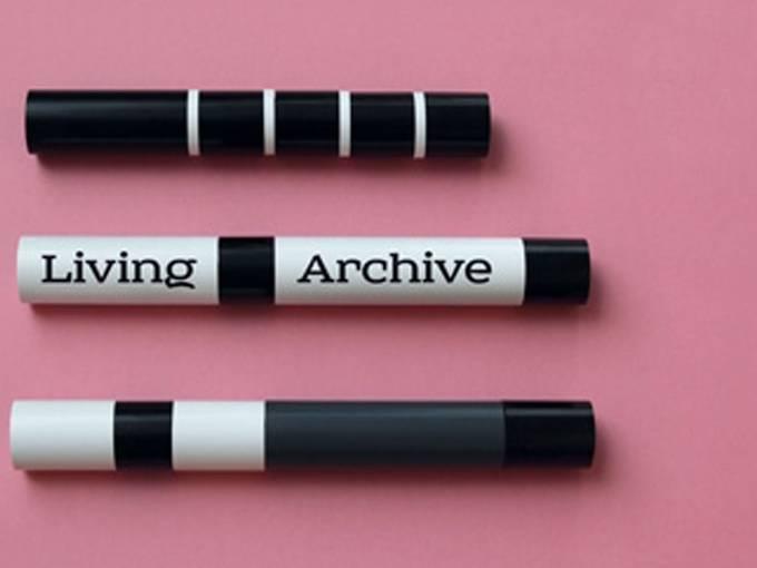 """""""Living Archive"""", Martin Ebner, Film ohne Film, 2013 (nach: Evil Faerie von George Landow, 1 min., 1966)"""