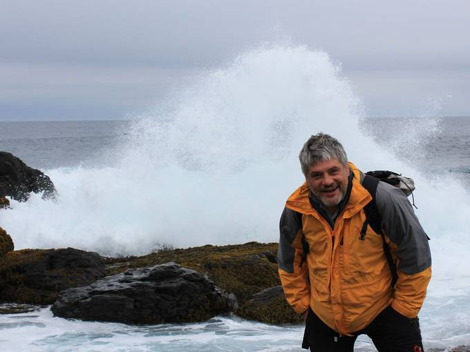 Raoul Schrott in Neufundland © Marc LaFlamme